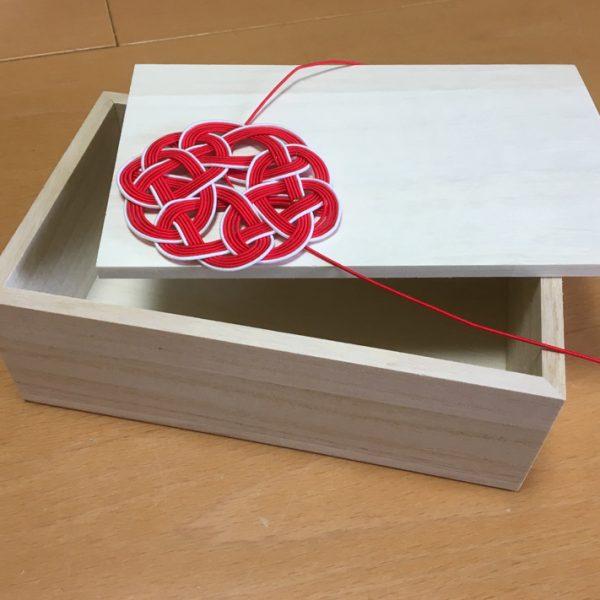 カトラリーボックスの製作過程